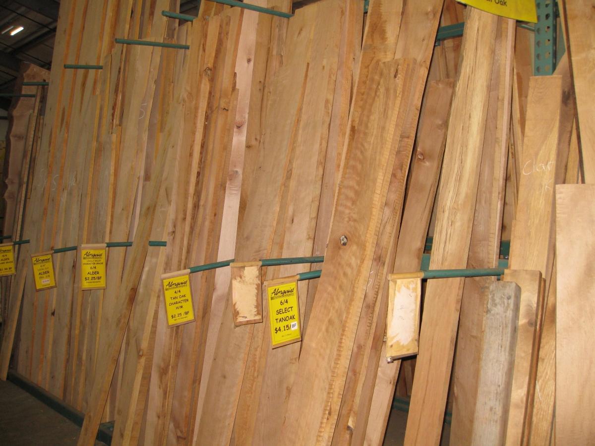 Local Hardwoods | Almquist Lumber Company