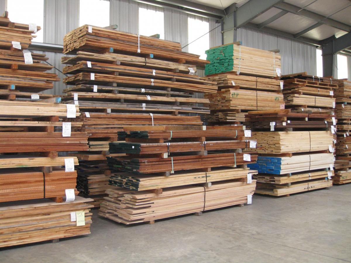 Hardwood lumber almquist company