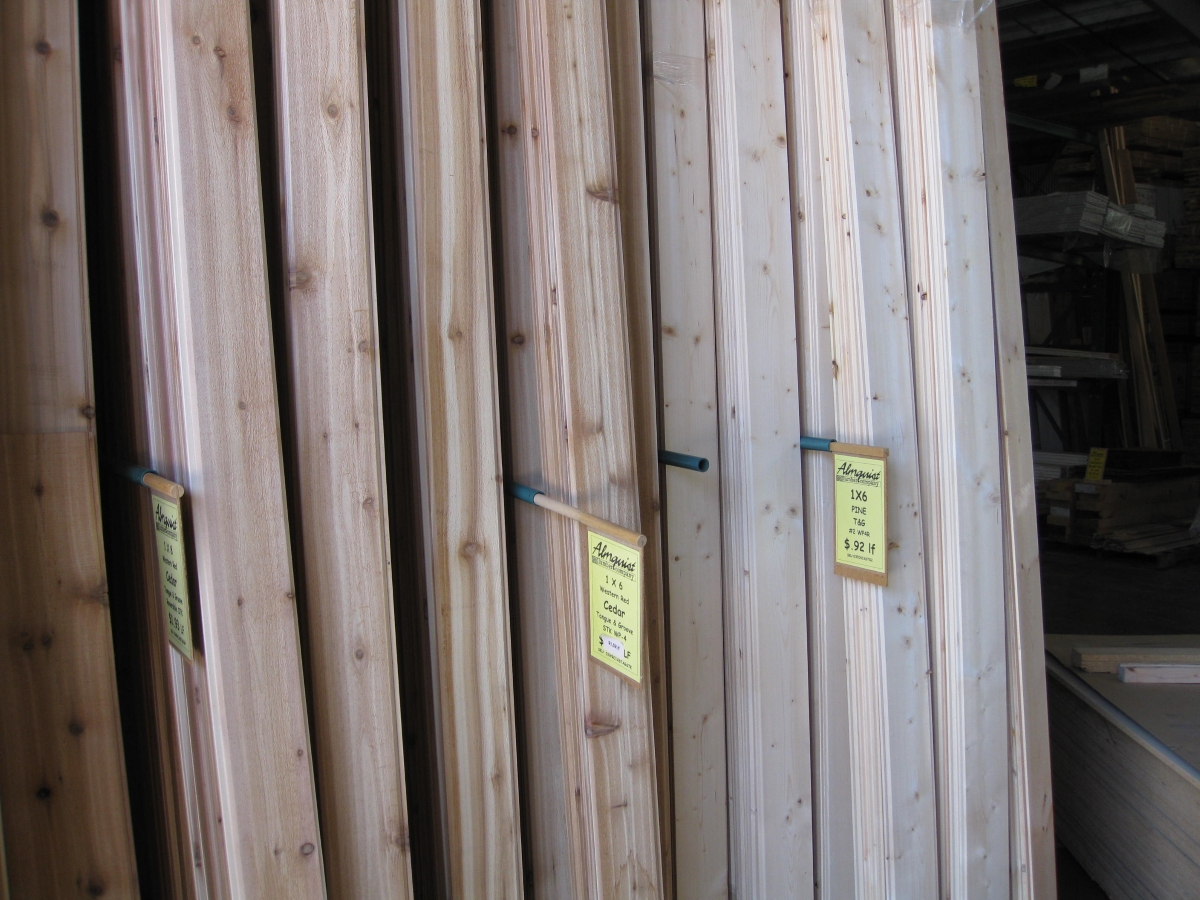 Wood Siding & Paneling | Almquist Lumber Company